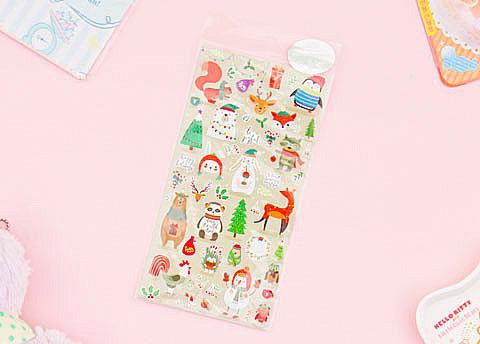 Nekoni Christmas Stickers