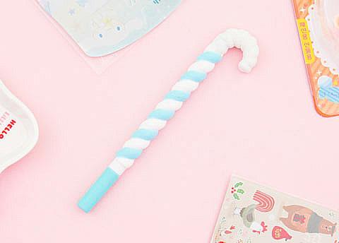 Xmas Candy Cane Pen