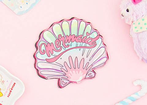 Mermaid Seashell Coin Purse