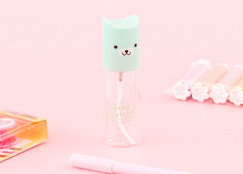 Kawaii Animal Spray Bottle