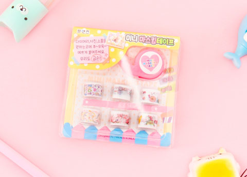 Korean Mini Masking Tape Set