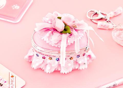 Heart Princess Jewelry Box
