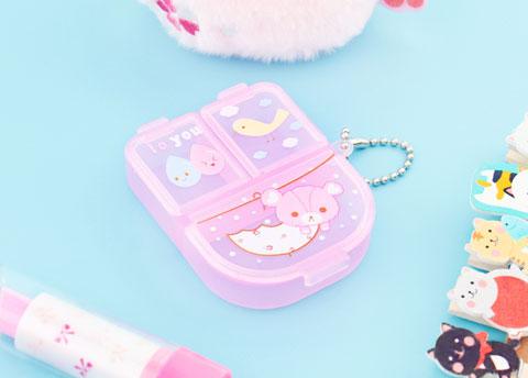 Cute Animals Pill Box