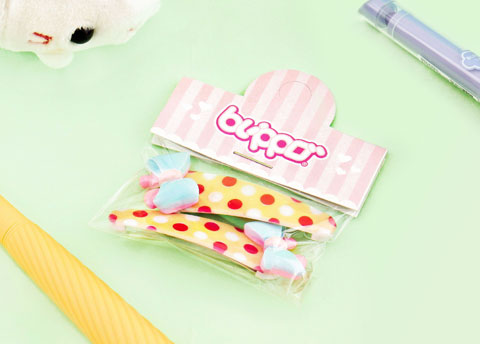 Blippo Kawaii Ribbon Hair Clip