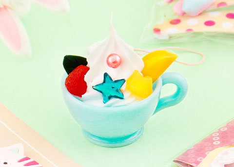 Ice Cream Cup Charm