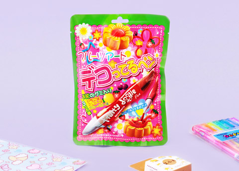 DIY Fruity Doodle Pen & Flower Candy
