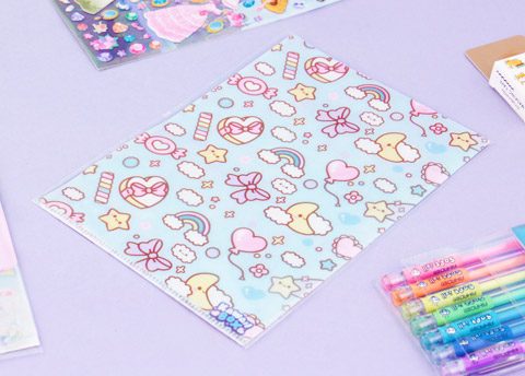 Kawaii Dreams File Folder