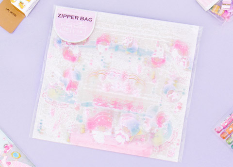 Sanrio Characters Zip Top Bag Set