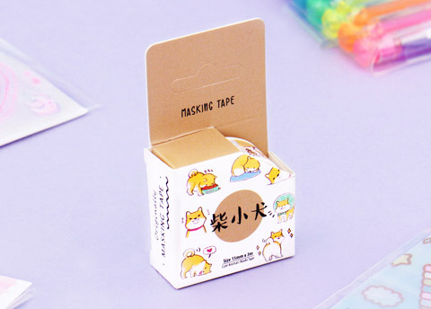 Cute Animal Friend Masking Tape