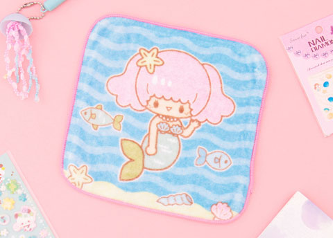 Aiko Little Mermaid Face Towel