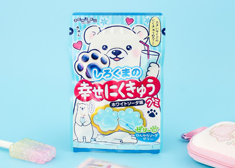 Happy Nikukyu Polar Bear Paw Gummies