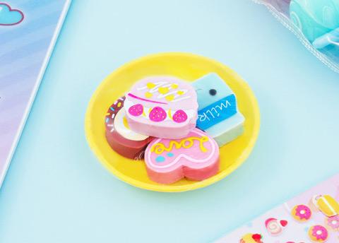 Kawaii Desserts Erasers