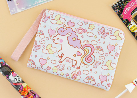Kawaii Box Unicorn Cosmetics Bag