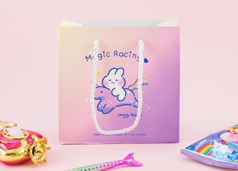 Magical Bunny Pastel Gift Bag