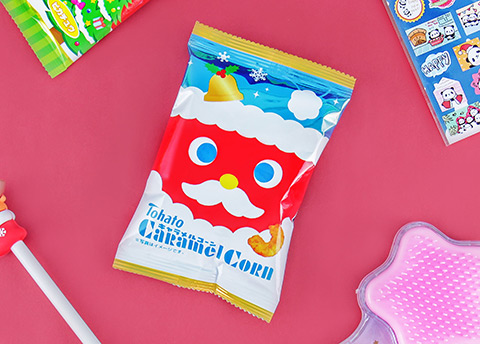 Tohato Caramel Corn Christmas Mini Pack