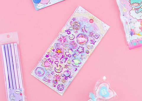Majestic Jewelry Crown Stickers