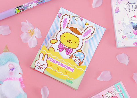 Sanrio Characters Easter Sticky Note Set