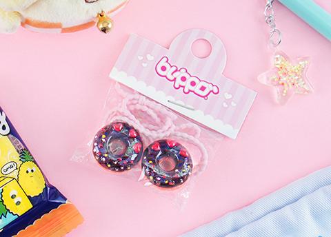 Sweet Donut Hair Tie Set