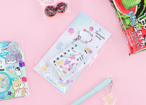 Summer Party Miniature Notebook