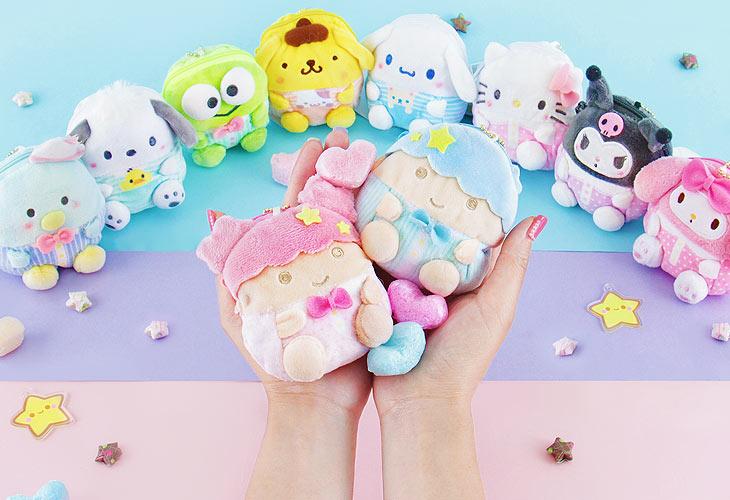 Cute kawaii plushies