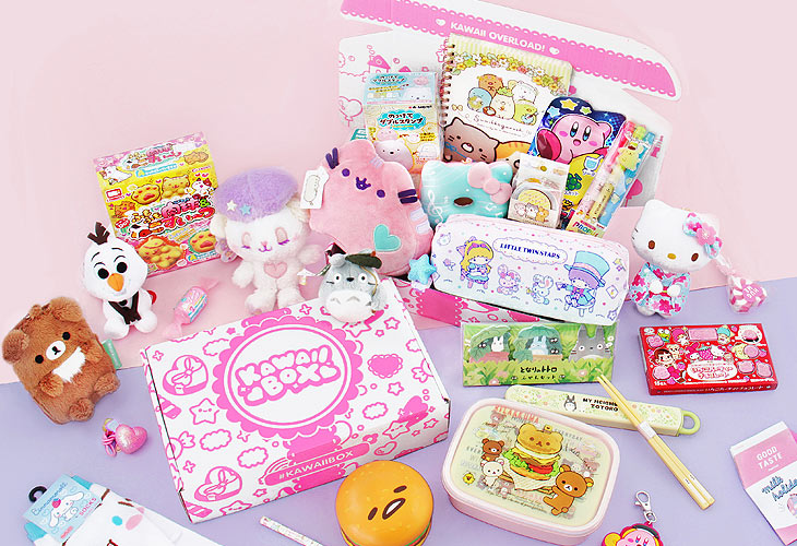 The most popular monthly Kawaii Box