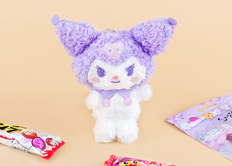 Sanrio Character Fluffy Plushie Charm