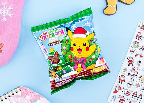 Tohato Pokemon Christmas Snacks