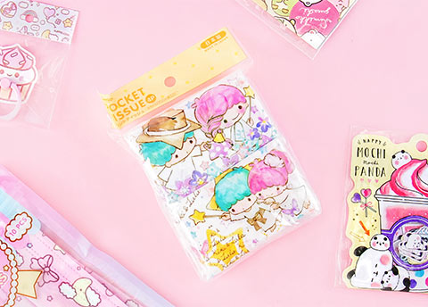 Sanrio Character Pocket Tissue