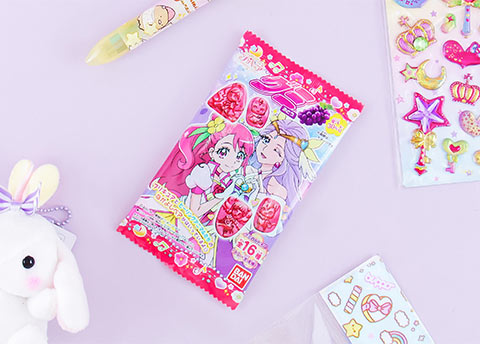 Pretty Cure Grape Gummies