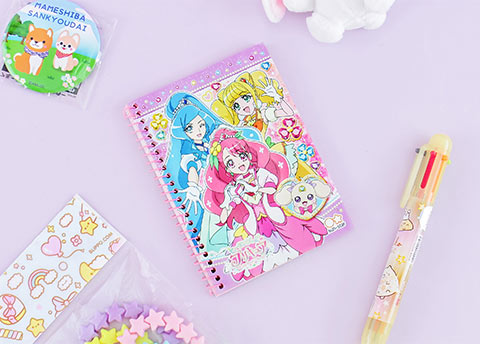 Pretty Cure Magical Notebook