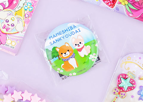 Amuse Characters Adventure Pocket Mirror