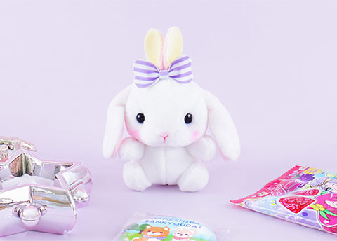 Pote Usa Loppy Fluffy Plushie