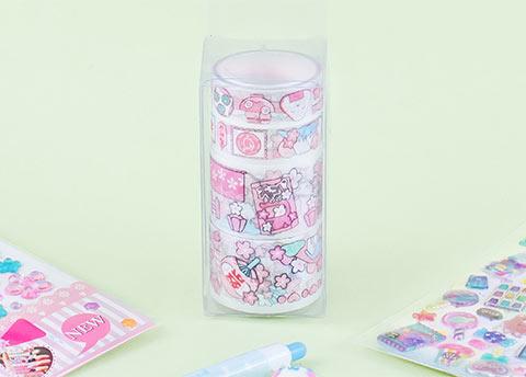 Kawaii Fun Deco Tape Set