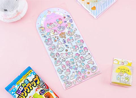 Sanrio Characters Deco Stickers