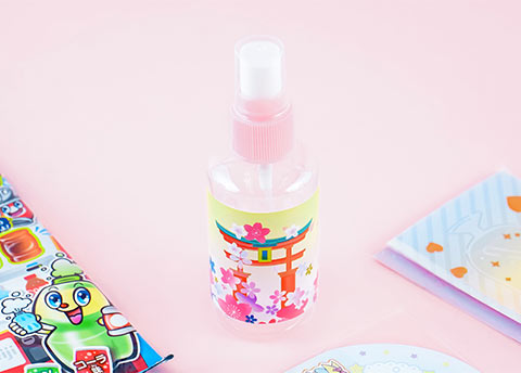 Handy Sakura Cosmetic Bottle