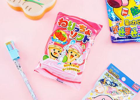Nericcho Strawberry Ice Cream DIY Candy Kit