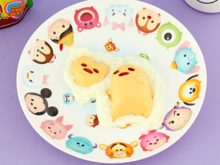 Heart Gudetama Pudding DIY Kit
