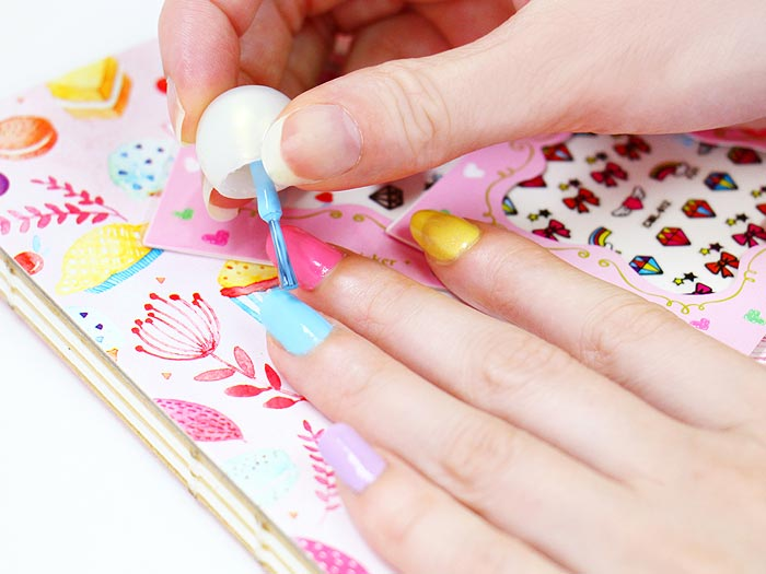 Sweet Sweet Nail Stickers Tutorial