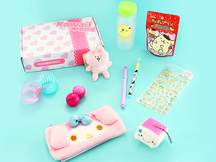16b9c58ba365 Kawaii Box – August 2017. Share · Tweet  Pin. These super kawaii things  were included in the ...