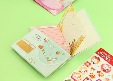 Neko Onsen Mini Notebook