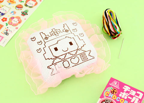 Korean DIY Cross Stitch Kit