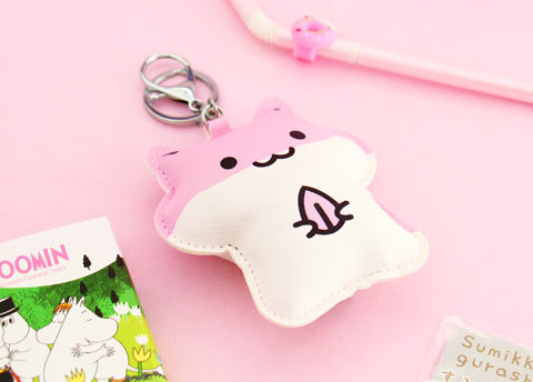 Kawaii Hamster Soft Bag Charm