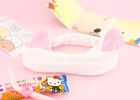 Neko Ears Soft Headband