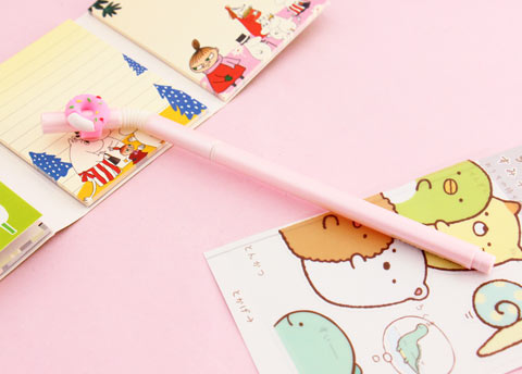 Kawaii Drinking Straw Pen