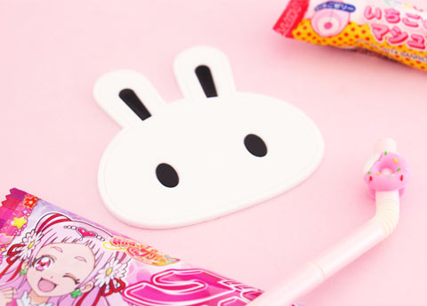 Cute Bunny Drink Coaster
