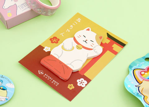 Inu & Neko Sticky Notes