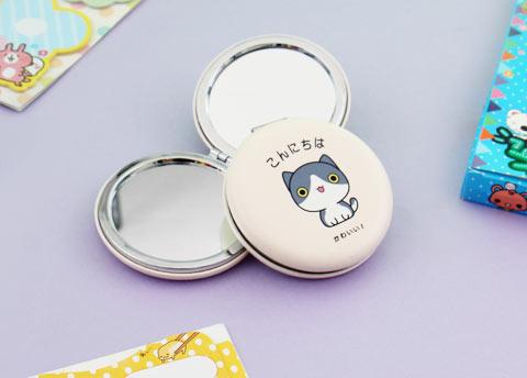 Kawaii Neko Pocket Mirror
