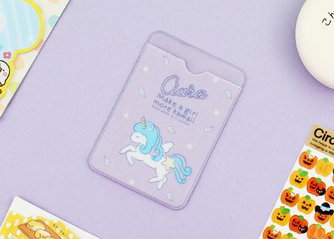 Ciara Unicorn Card Protector