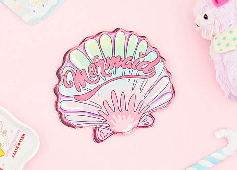 Mermaid Seashell Coin Purse