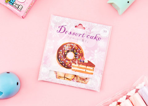 Dessert Cake Sticker Set
